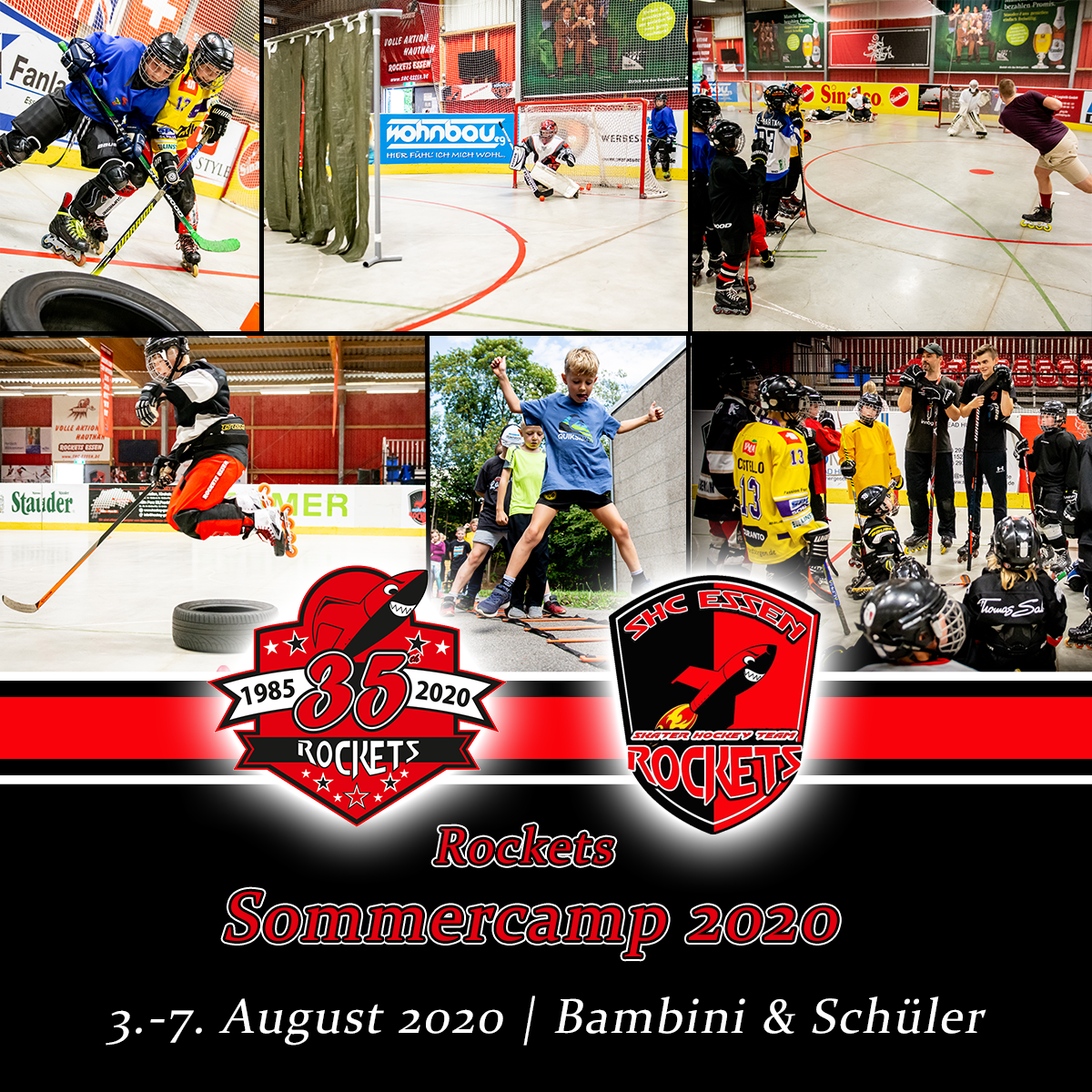 Rockets-Sommercamp 2020