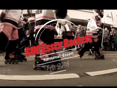 Video: Rockets @ Karneval Rosenmontagszug 2018